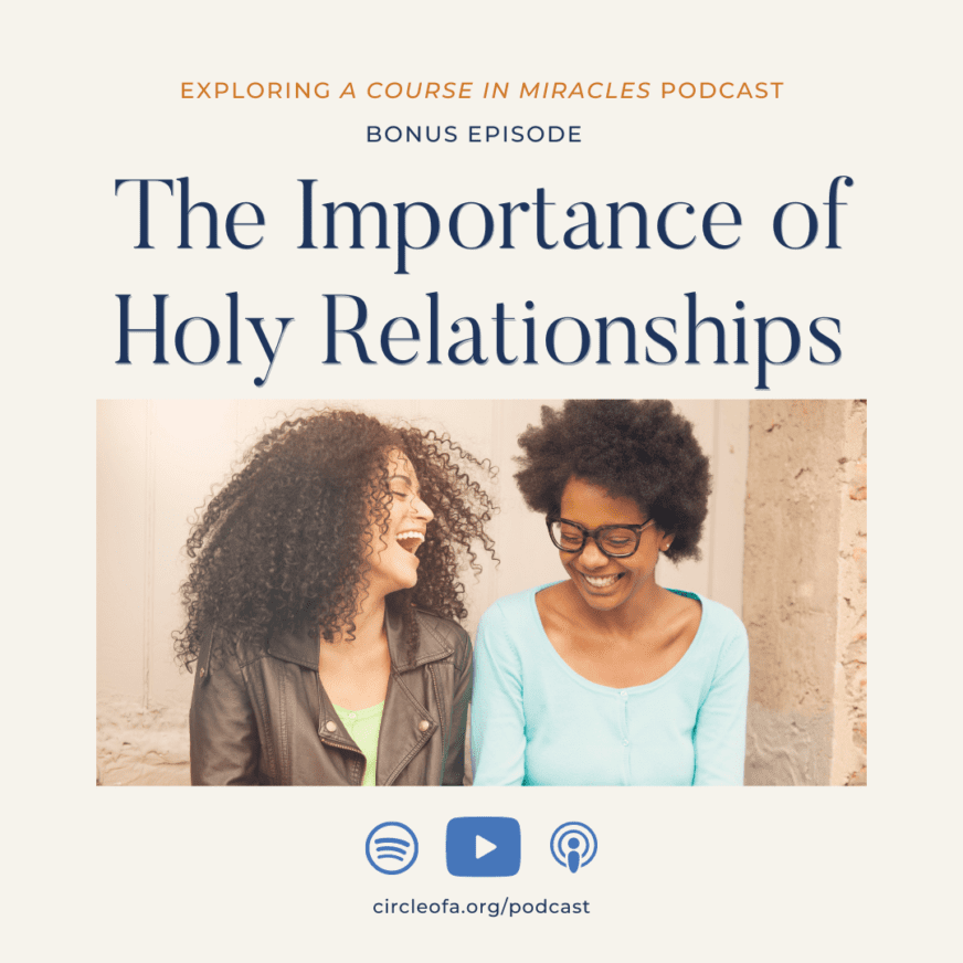 the importance of holy relationships