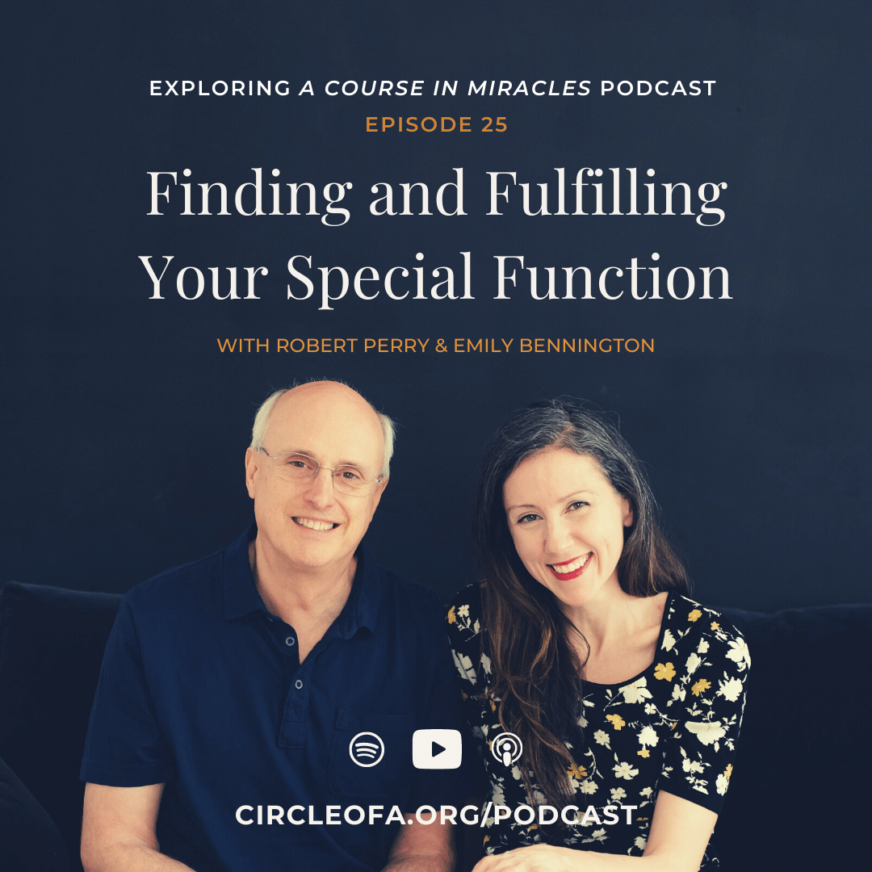 Special Functions in A Course in Miracles